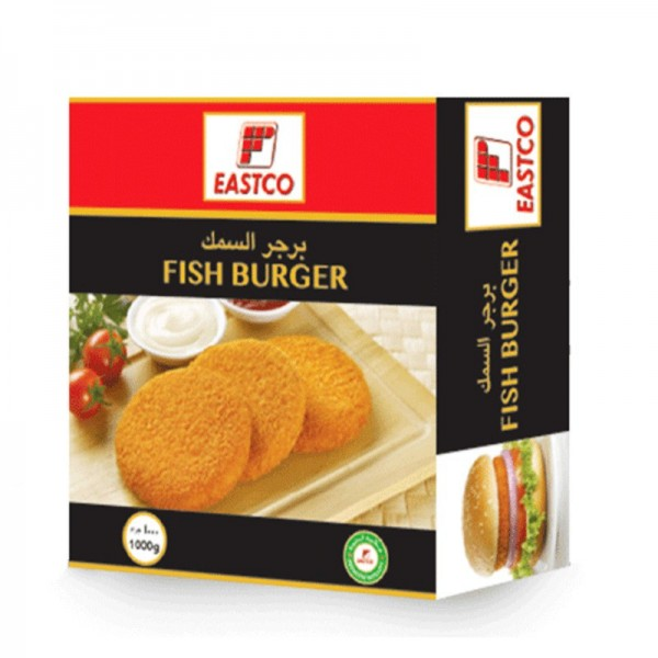 Eastco Breaded Fish Burger