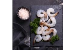Shrimps Vannamei Peeled & Deveined  Tail on  - 1Kg Pack