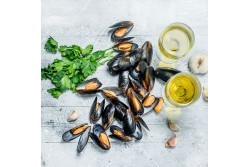 Mussels Whole Large Size  - 1Kg Pack