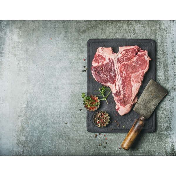 Fresh Premium Meat T-Bone Steak