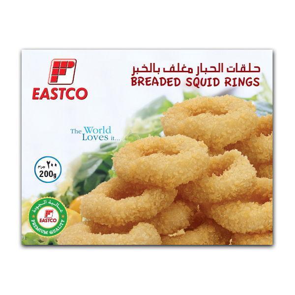 Eastco Breaded Squid Rings