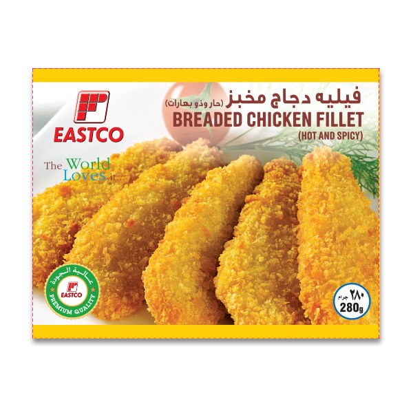 Eastco Breaded Chicken Fillet
