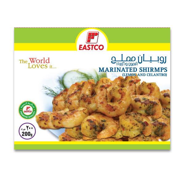 Eastco Marinated Shrimps Lemon and Celantro