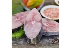 Fresh King Fish Steaks Skin-on - Per Kg