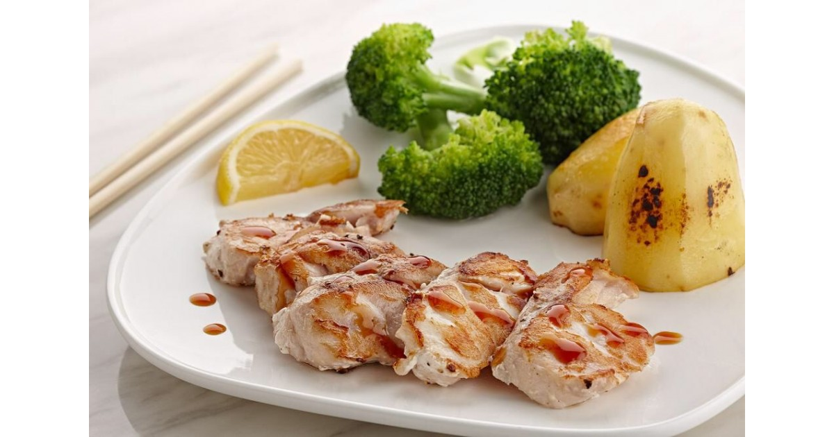 Grilled Hamour With  Hebatchi sauce