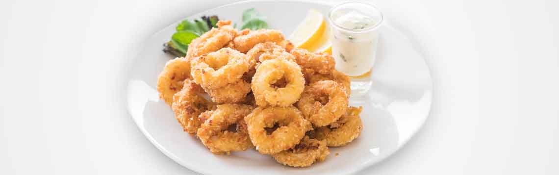 Fried Calamari Rings Recipe